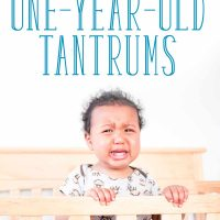 What to Do when You're Dealing with 1 Year Old Tantrums Already