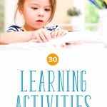 30 Creative Learning Activities for 2 Year Olds