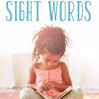 Is your child struggling with sight words? Learn fun and effective strategies for teaching sight words without stress and pressure!
