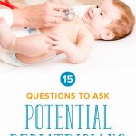 Expecting a New Baby? Top 15 Questions to Ask Potential Pediatricians