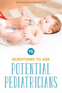 Looking for a pediatrician for a newborn? Discover the 15 interview questions for pediatricians you need to ask at a meet and greet. Even includes a FREE worksheet with question prompts! A must for every expecting mom getting ready for her baby. #pediatrician #expectingmoms