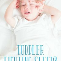 Toddler Fighting Sleep? 5 Tips You Haven't Tried (plus a giveaway!)