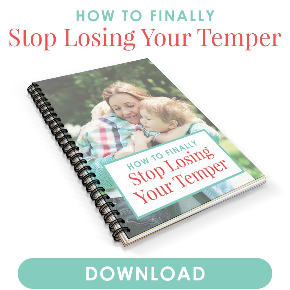 A free PDF on how to stop losing your temper