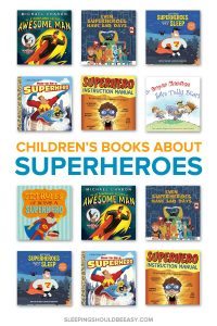 Does your child love to dress up as a #superhero and conquer the world? Discover 7 superhero books for kids, perfect for your child's next adventure! This list of superhero books includes must-read selections for every child who loves pretend play. Even includes a FREE printable of children's read aloud books, categorized by age! #superherostuff