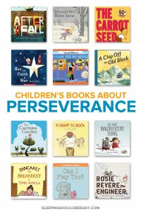 A collection of children's books about perseverance