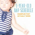 1 Year Old Nap Schedule: Examples that Actually Work