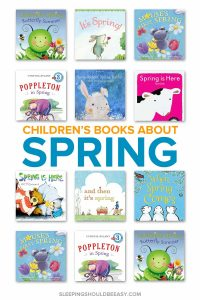 A collection of children's books about spring