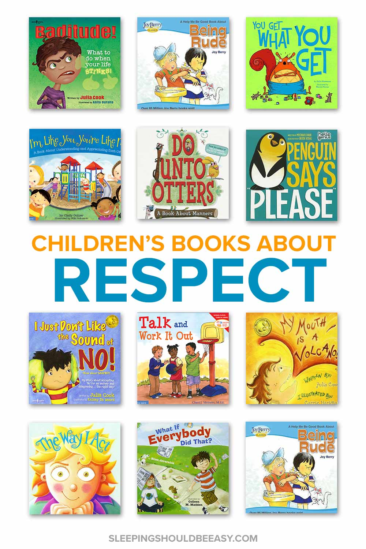 Children's Books about Respect to Raise Respectful Kids