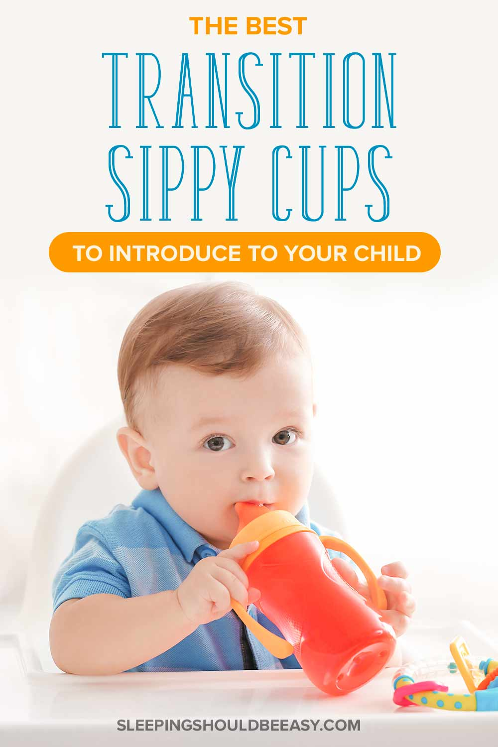 A little boy drinking from a sippy cup: The best transition sippy cups to introduce to your child