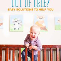 Toddler Climbing Out of the Crib? Easy Solutions to Help You
