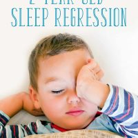 How to Get Through the 2 Year Old Sleep Regression