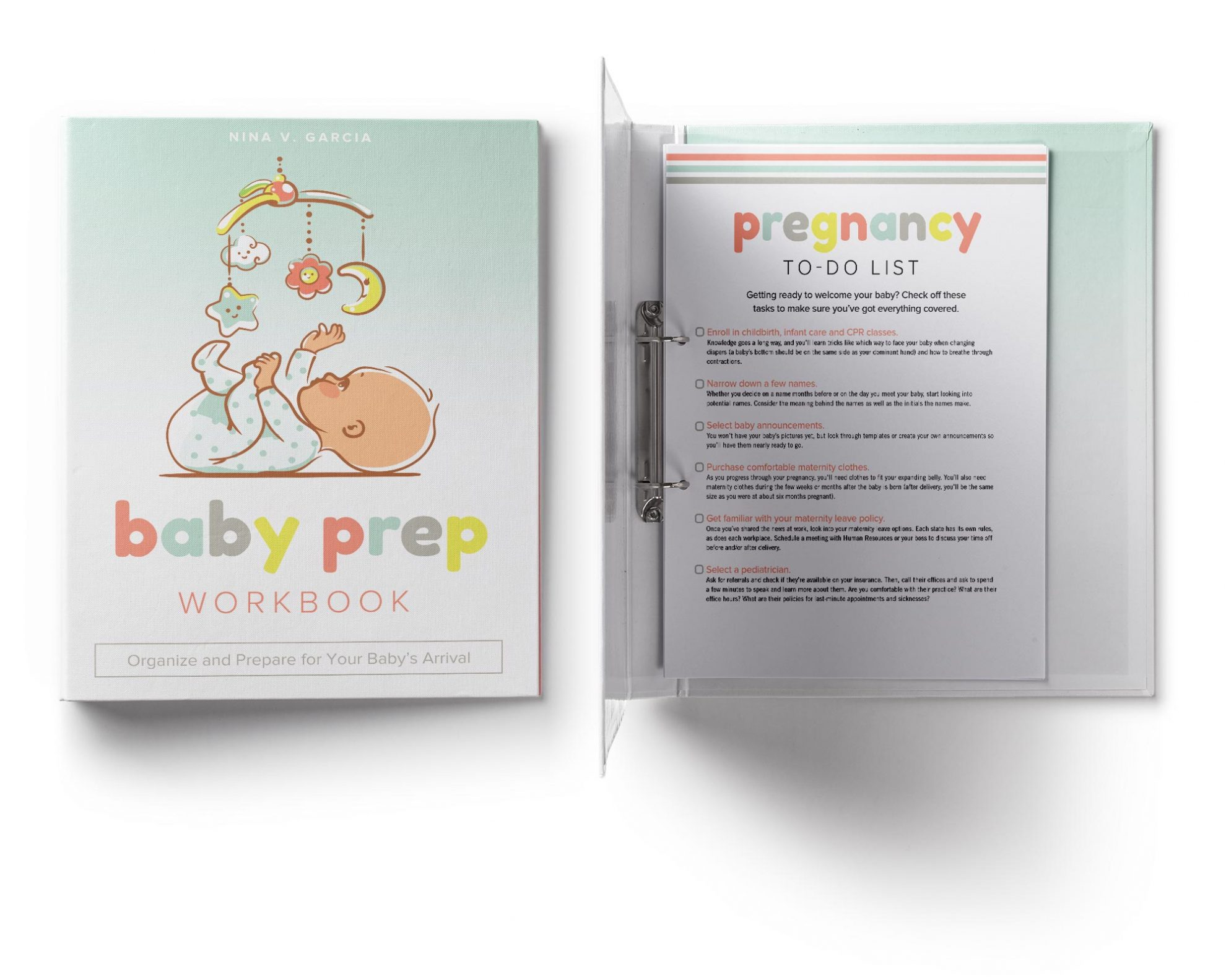 Baby Prep Workbook: Organize and Prepare for Your Baby\'s Arrival