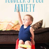 How to Respond to Your Toddler's Poop Anxiety