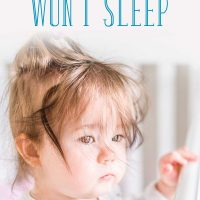 What to Do When Your Toddler Suddenly Won't Sleep