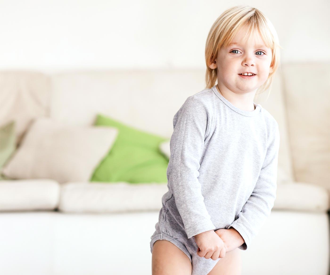 A little boy smiling: helping children make good choices