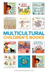A collection of multicultural children's picture books