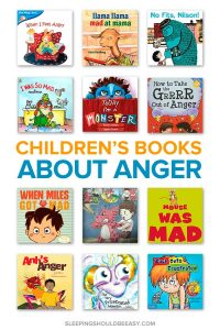 A collection of children's books about anger