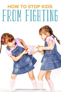 2 girls fighting over a doll: how to stop kids from fighting
