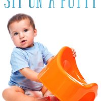 Toddler refuses to sit on potty