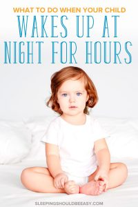 2 year old waking up at night for hours who wants to play