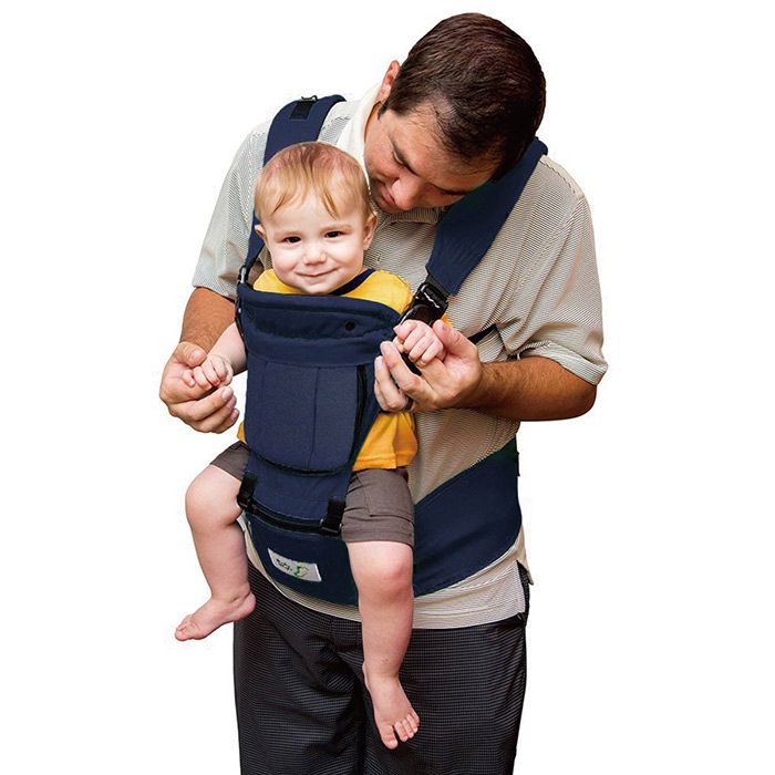 BabySteps 6-IN-1 Ergonomic Baby Hip Seat Carrier