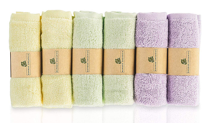 Bamboo Organics Washcloths