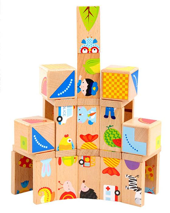 MEIGO Wooden Toys Dominoes