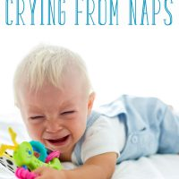 baby wakes up crying from naps