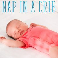 how to get baby to nap in crib
