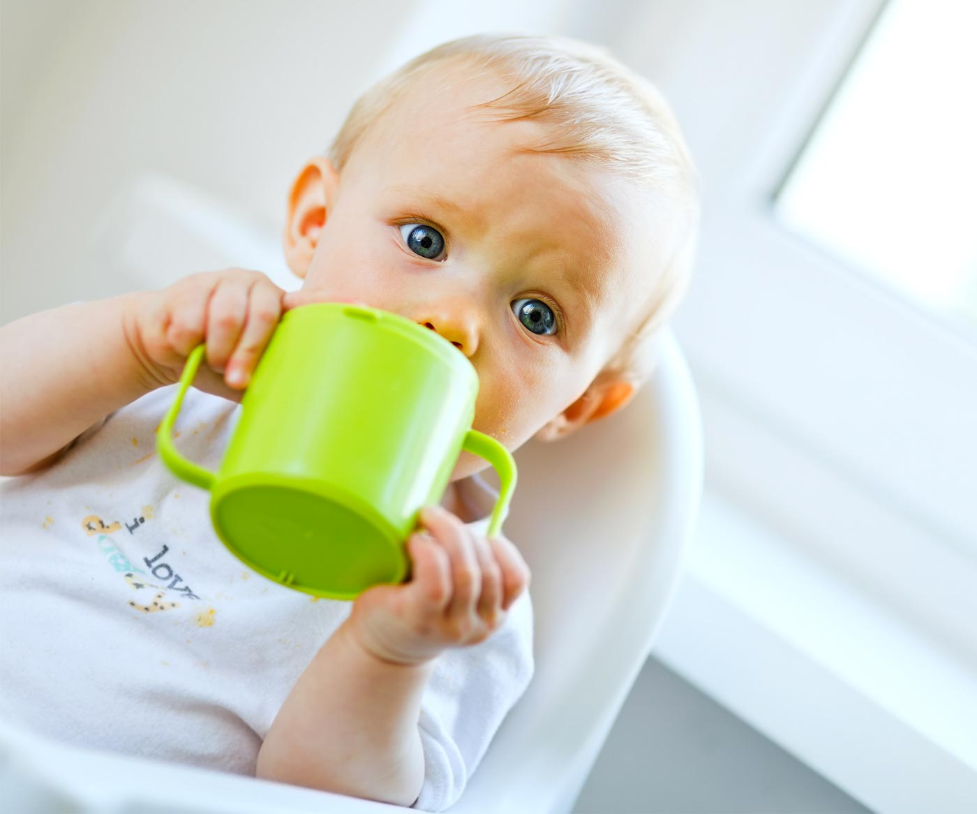 transition to a sippy cup