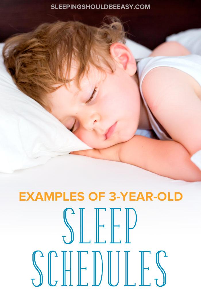 little boy sleeping using a 3 year old sleep schedule