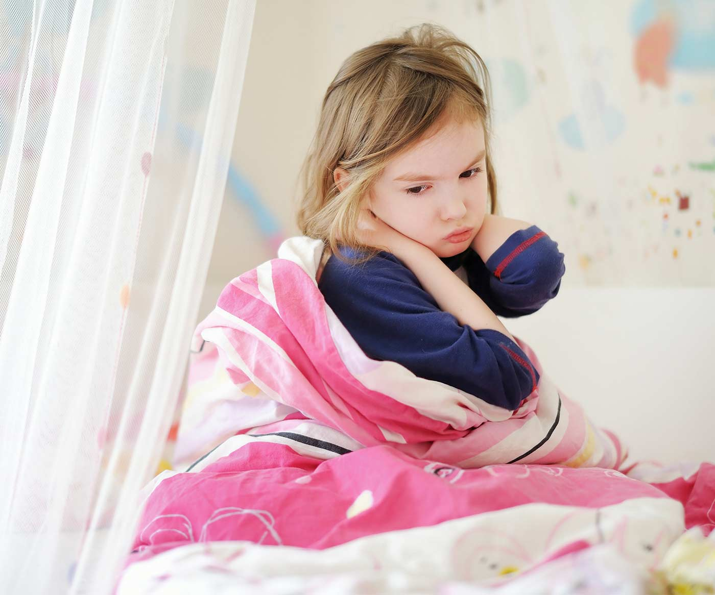 Mad little girl in bed: the biggest reason you should stand your ground