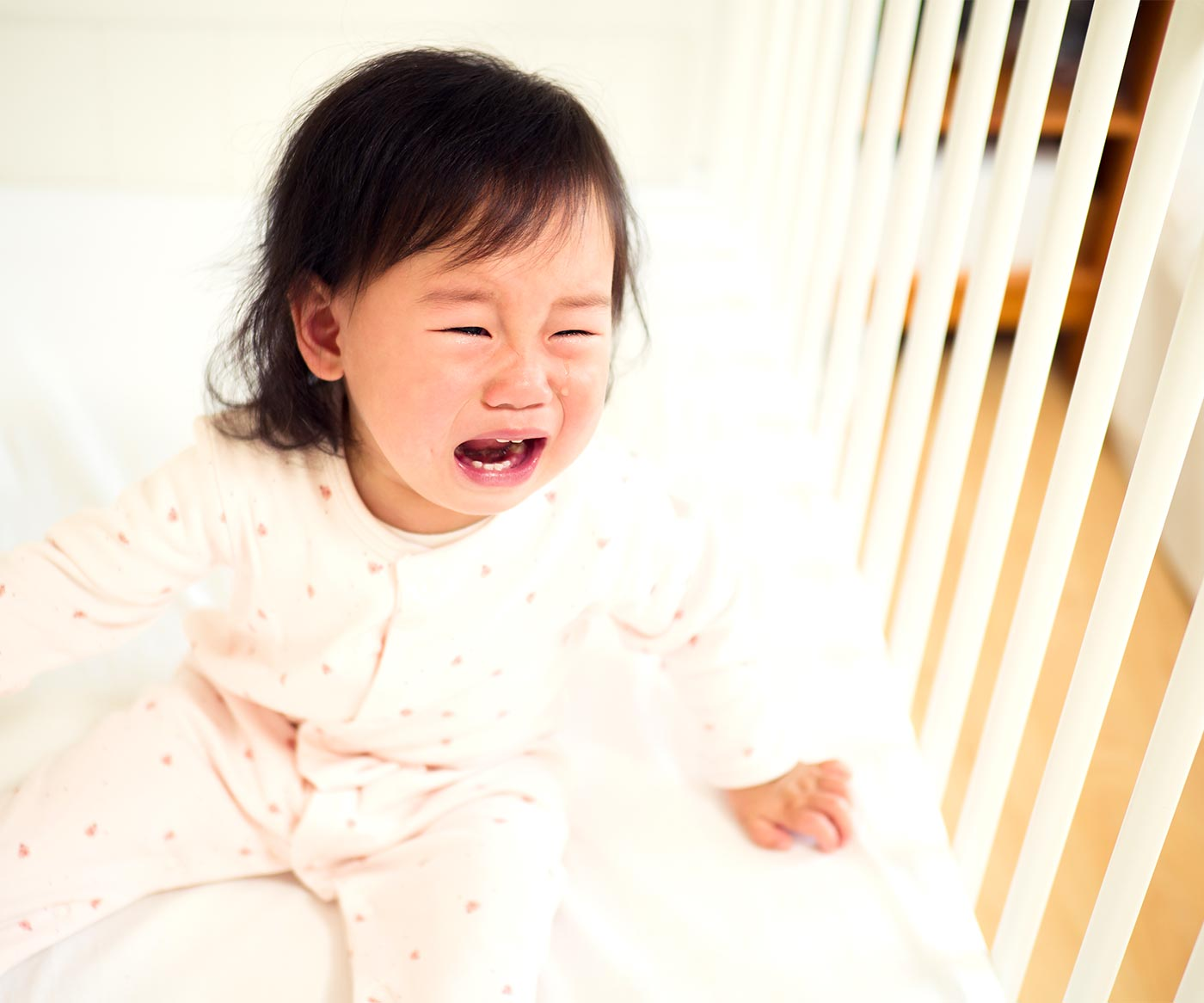 toddler hysterical at bedtime